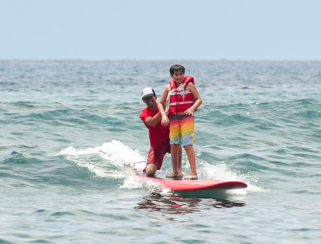 disability surfing on the big island